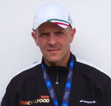 Fabrizio Vignali alla Maratona di Reggio