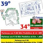 Salcus domenica al 39° Giro delle Mura Estensi