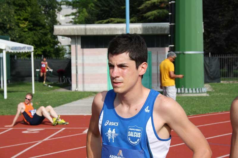 Samuele Fabbri vince il 36° Meeting di Primavera a Copparo(Fe) nei 1500m