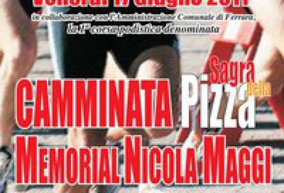 Camminata Sagra della Pizza Venerdì 17 Giugno
