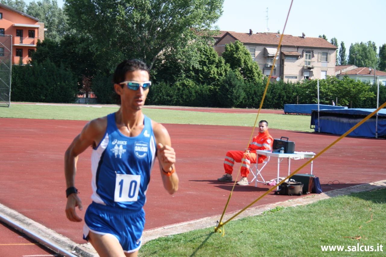 Rudy Magagnoli sesto alla BEACH RUN 2011