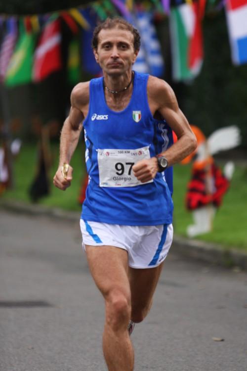 Calcaterra, tre volte campione del mondo sulla 100 km