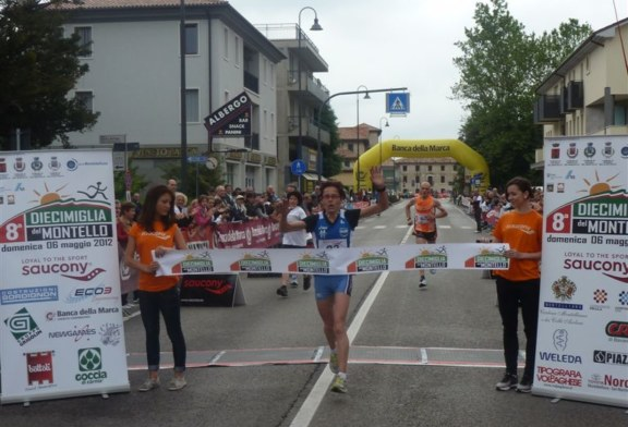 Giovanna Ricotta vince la 10 Miglia del Montello