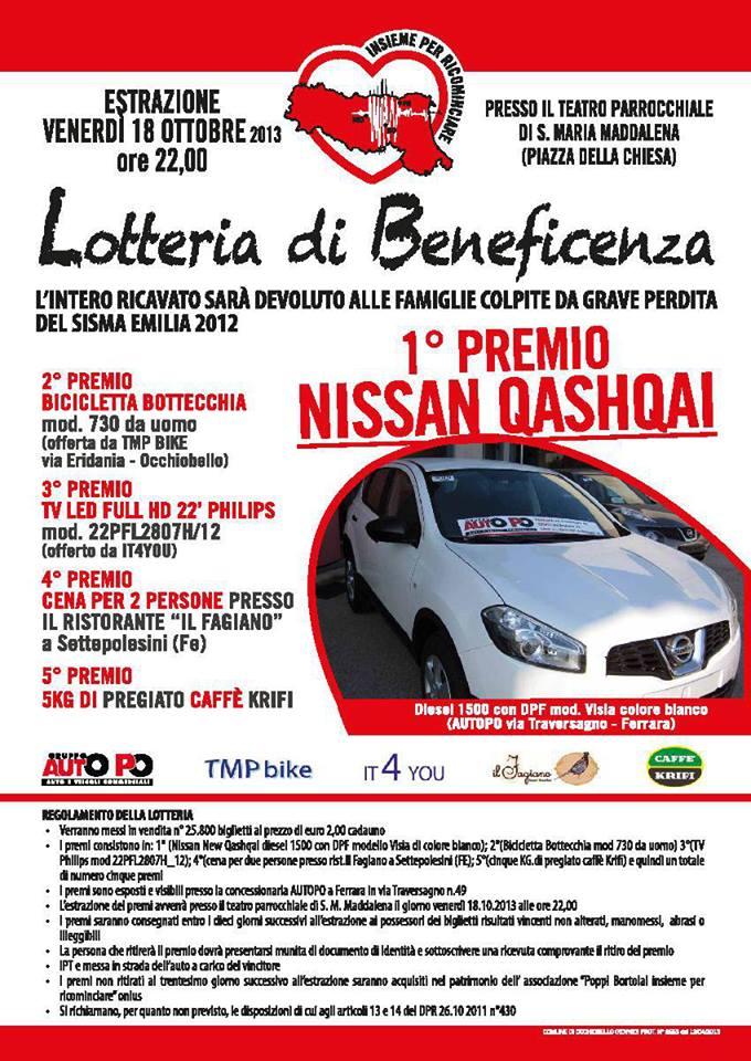 Lotteria Insieme per Ricominciare