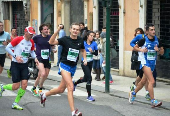 Salcus alla  'Giulietta & Romeo Half Marathon'