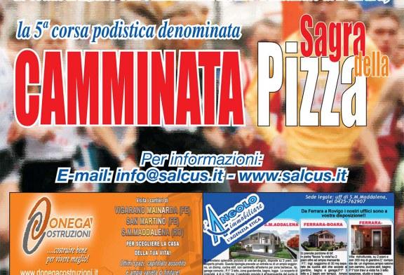 """CAMMINATA SAGRA DELLA PIZZA CANOTTA AI PRIMI """"250 ISCRITTI"""""""