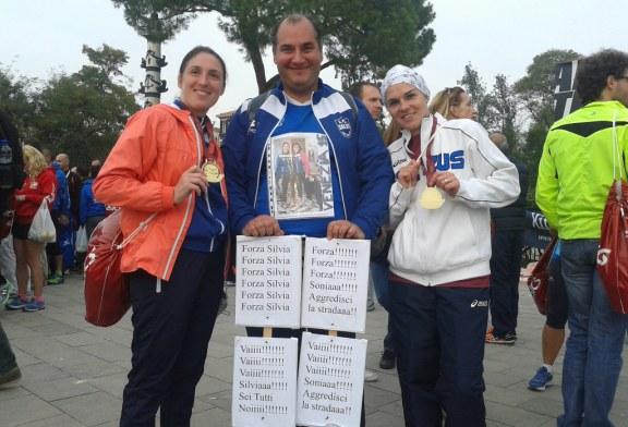"Salcus alla ""Caminada par el Sguazo""  e alla Venicemarathon"