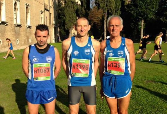 La Salcus con Abderrazak e Bellinello in evidenza alla XVII Maratona internazionale Ravenna Città d'Arte