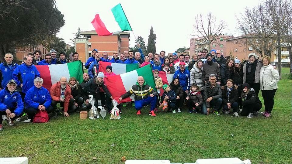 Campioni Italiani UISP di corsa campestre in terra Senese