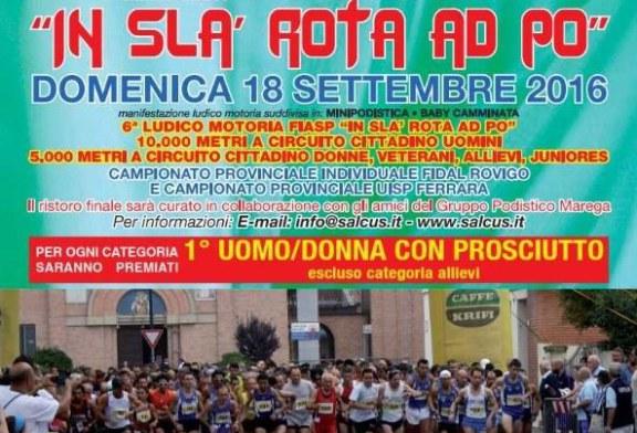 In Sla Rota ad Po 2016: Visita Medico Sportiva
