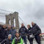 Toso, Maniezzo, Lazzarini, Buzzoni e Turolla alla New York Marathon