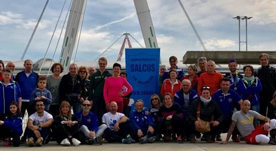 Salcus ai nazionali di corsa campestre a Venaria Reale (To)
