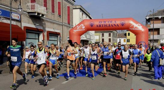 Salcus alla Formignana Tresigallo running